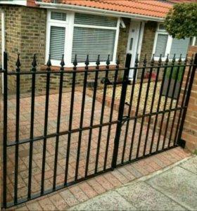 Ворота кованые .