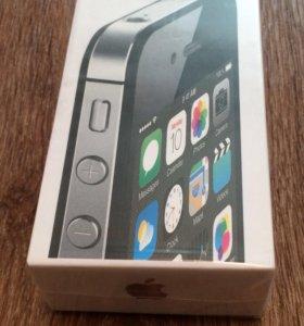 Айфон 4s на 16г черный