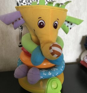 Развивающая музыкальная игрушка слон Tiny love