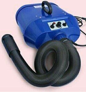 Фен-компрессор для сушки собак