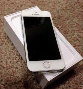 iPhone 5S 16gb LTE silver