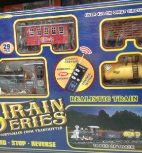 Железная дорога с радиоуправлением