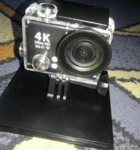 Новая экшен камера 4К 25FPS/WI-FI