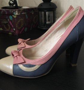 Новые туфли кожа 37,5