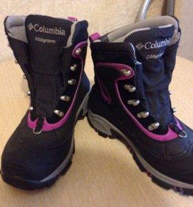 Женские зимним ботинки