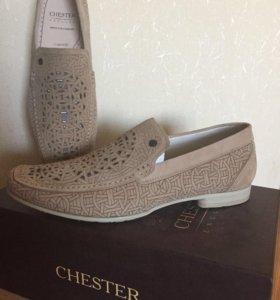Новые  туфли мужские летние CHESTER
