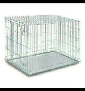 Клетка для щенков 65*45