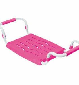 Сиденье в ванну пластмассовое, розовый НОВЫЕ
