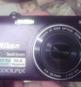 Фотоаппарат Nikon 5X WIDE OPLICAL ZOOM
