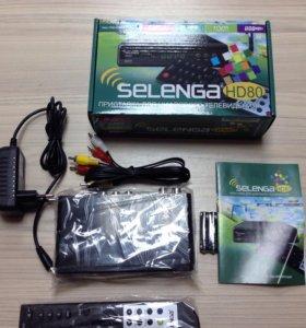 Приставка для бесплатного телевидения Selenga HD80