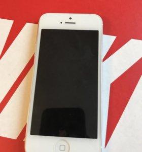 Продаю iPhone 5, 16gb, white