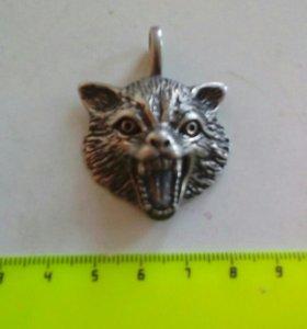 Подвеска-волк (металлическая)