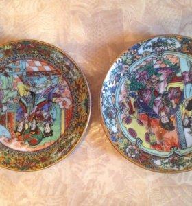 Коллекция тарелок настенных