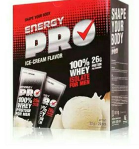 Сывороточный протеин для мужчин . пломбир