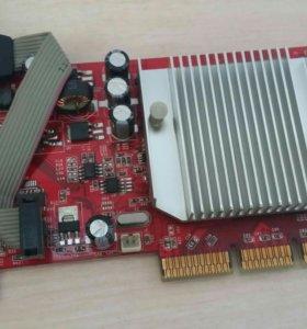 Видеокарта AGP Palit FX5200 128mb
