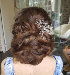 Украшение в причёску свадебное