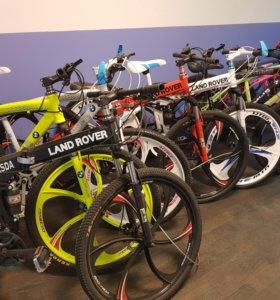 Велосипеды на литых дисках спинер в комплекте