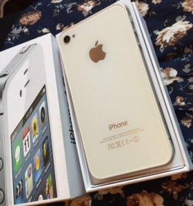 iPhone 4s 64gb новый, в идеале, полный комплект