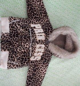 Курточка детская 6-9 месяцев