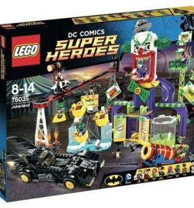 Новое Лего Супергерои 76035 Джокерлэнд