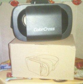 Новые очки виртуальной реальности ColorCross