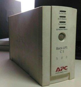 ИБП APC Back-UPS CS 500 без батареи