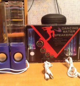 Колонки с танцующей водой (Dancing Water Speakers)