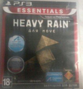 Игра на ps3: Heavy rain