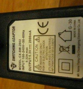 Зарядное устройство switchig adaptor 2А