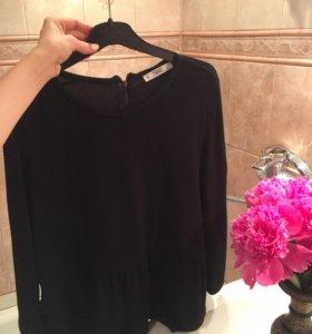 Блуза Mango с баской