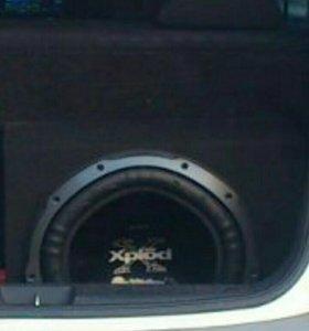 Сабвуфер автомобильный Sony Xplod