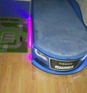 Кровать машина