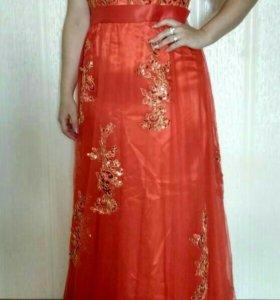 Вечернее платье размер L -XL