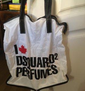 Новая сумочка складная с замочком.