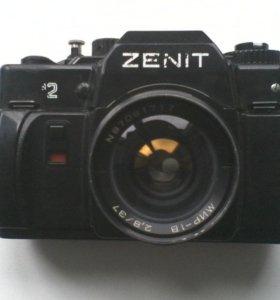 Фотоаппарат Зенит 122 + Мир-1в