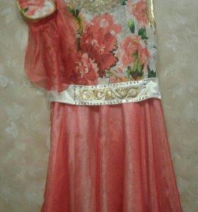 Татарское платье с головным убором