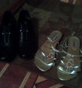 Ботинки и босоножки