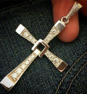Серебрянный крест Доминика Торетто