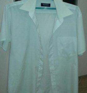 Мужская рубашка с короткими рукавами