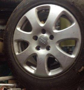 Оригинальные диски Audi q 7 r18 4L0601025AF