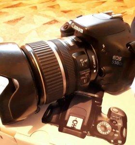 Canon EOS 550D 17-85mm f4-5.6