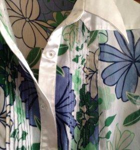 Блузка новая 46-48/L. Корея