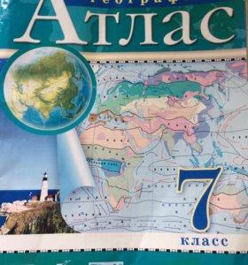 Атласы и карта