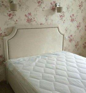 Кровать в велюре от производителя