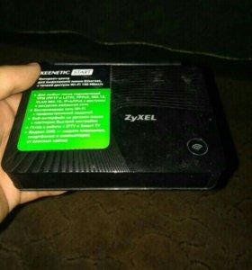 Wifi роутер zyxel keenetic start