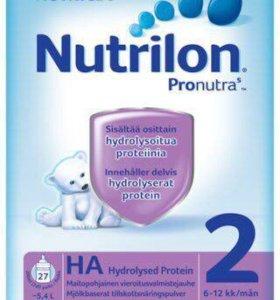 Нутрилон гипоаллергенный с 6 мес из Финляндии