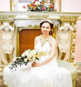 Платье в греческом стиле на свадьбу или выпускной