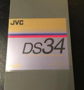 Видеокассеты JVC digital-S DS 34
