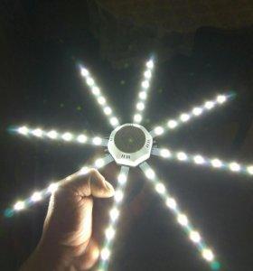 Светодиодная лампа 24w Осминог