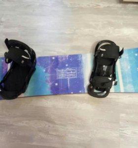 Продам комплект сноуборд
